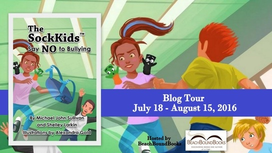 Enter The Sockkids Say No to Bullying Book Blast / Giveaway. Ends 8/15.
