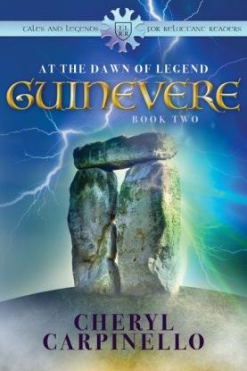 Guinevere Dawn of Legend Cover FINAL Apple & B&N