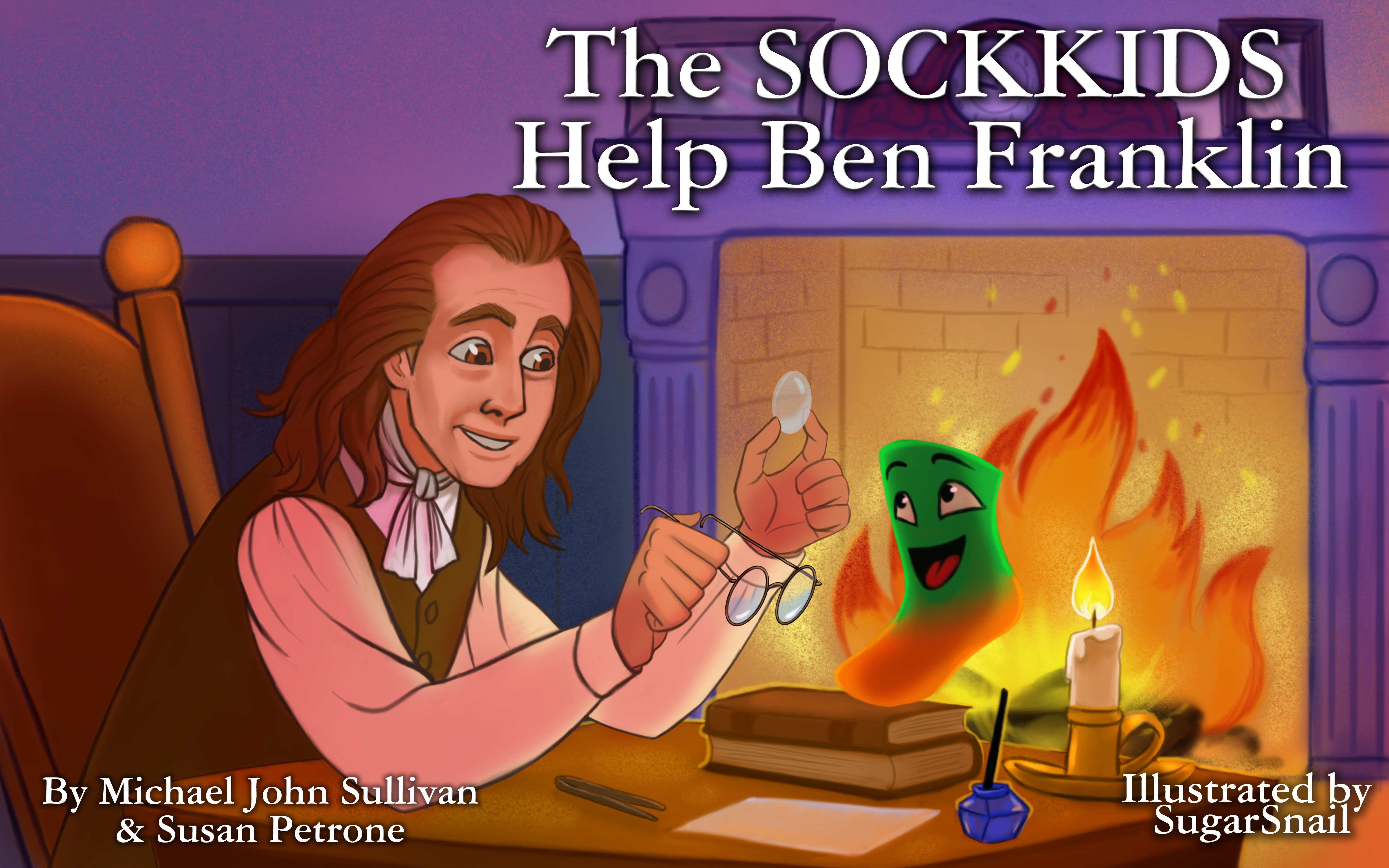 SockKidsMeetBenFranklin Cover 1